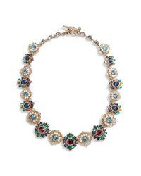 Marchesa - Metallic Collar Necklace - Lyst