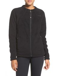 The North Face | Black Full Zip Fleece Jacket | Lyst