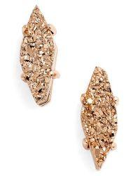 Kendra Scott - Metallic 'brooke' Stud Earrings - Lyst