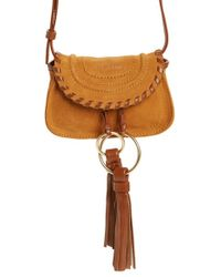 See By Chloé | Brown Nano Polly Leather Crossbody Bag | Lyst