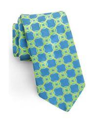 Ted Baker   Green Medallion Silk Tie for Men   Lyst