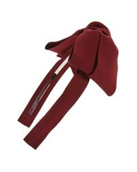 Cara | Red Bow Headband | Lyst