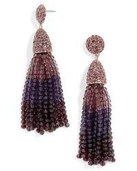 BaubleBar - Purple 'nynette' Tassel Drop Earrings - Lyst