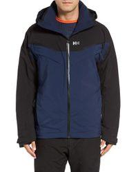 Helly Hansen | Blue 'blazing' Waterproof Ski Jacket for Men | Lyst