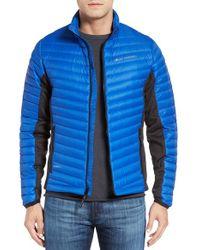 Helly Hansen   Blue Verglas Hybrid Down Jacket for Men   Lyst