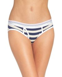 2xist - Blue 'retro Cotton' Boy Briefs - Lyst
