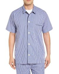 Polo Ralph Lauren | Blue Cotton Pajama Shirt for Men | Lyst