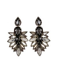 Suzanna Dai | Black 'cuzco' Drop Earrings | Lyst