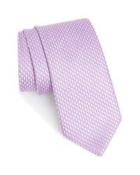 John W. Nordstrom   Pink John W. Nordstrom 'grayson Mini' Silk Tie for Men   Lyst