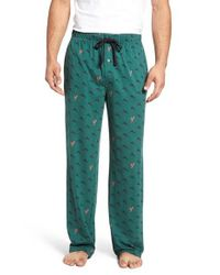 Tommy Bahama - Green Cotton Blend Lounge Pants for Men - Lyst