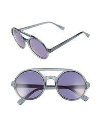 Derek Lam | Gray 'morton' 52mm Sunglasses | Lyst