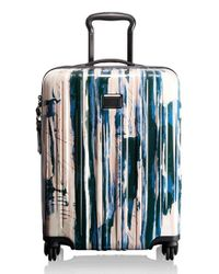 Tumi | Blue 'v3' Continental 4 Wheel Carry-on | Lyst