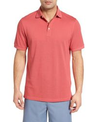 Peter Millar | Red Crown Polo for Men | Lyst