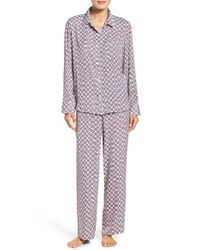 DKNY | Purple Satin Pajamas | Lyst