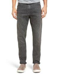 Vince | Black Slim Fit Stretch Denim Jeans for Men | Lyst