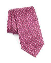 Ferragamo   Multicolor Abstract Snail Print Silk Tie for Men   Lyst