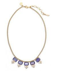 Loren Hope | Metallic 'alex' Collar Necklace | Lyst