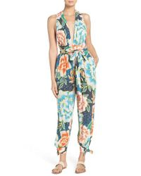 Mara Hoffman | Blue Cover-up Jumpsuit | Lyst
