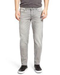 BOSS Orange - Gray Slim Fit Jeans for Men - Lyst