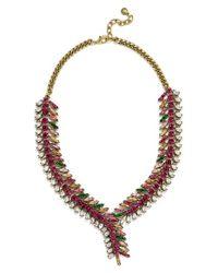 BaubleBar | Multicolor 'pomeline' Crystal Collar Necklace | Lyst