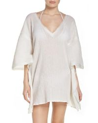 ViX | White Cover-up Caftan | Lyst