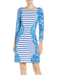 Lilly Pulitzer | Blue Nila Dress | Lyst