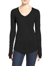 NIC+ZOE - Black Coveted Layer Top - Lyst