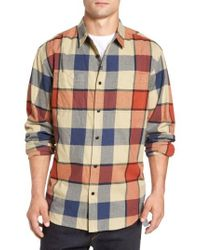 Imperial Motion | Gray 'hanson' Check Flannel Shirt for Men | Lyst