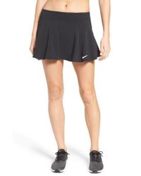 Nike | Black Pure Flouncy Tennis Skirt | Lyst