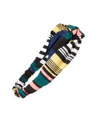 Cara | Multicolor Stripe Head Wrap | Lyst