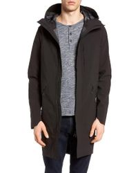 Theory | Black Military Hs Regiment Hooded Jacket for Men | Lyst
