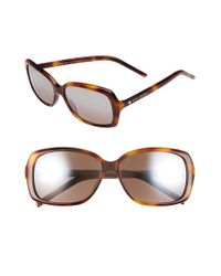 Marc By Marc Jacobs | Multicolor Marc Jacobs 57mm Sunglasses - Havana | Lyst