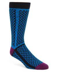 Ted Baker | Blue Copelan Dot Socks for Men | Lyst