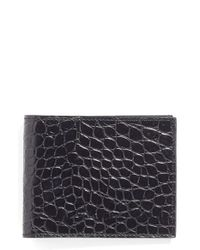 Martin Dingman | Black Leather Wallet for Men | Lyst