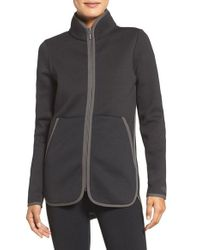 The North Face   Black Neo Knit Jacket   Lyst