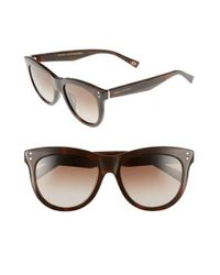 Marc Jacobs | Brown 54mm Sunglasses - Havana Medium | Lyst