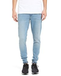 Cheap Monday | Blue Him Spray Skinny Fit Jeans for Men | Lyst