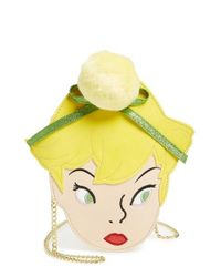 Danielle Nicole | Yellow X Disney Tinker Bell Faux Leather Crossbody Bag | Lyst