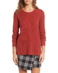Madewell | Red Helena Pullover | Lyst