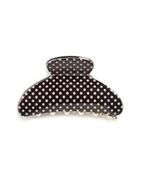 Tasha | Black Pin Dot Jaw Hair Clip | Lyst