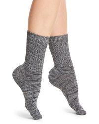 Frye | Gray Marled Knit Crew Socks | Lyst