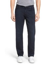 7 For All Mankind   Blue 7 For All Mankind Luxe Performance Sport Straight Leg Jeans for Men   Lyst