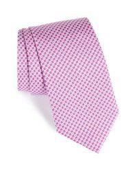 David Donahue | Multicolor Geometric Silk Tie for Men | Lyst