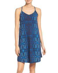 Patagonia | Blue Edisto A-line Dress | Lyst