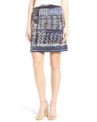 NIC+ZOE   Blue Streak Skirt   Lyst