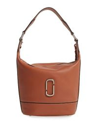 Marc Jacobs | Brown Noho Leather Hobo | Lyst