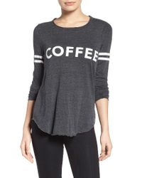 Chaser - Black Coffee Tee - Lyst