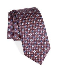 Brioni | Purple Geometric Silk Tie for Men | Lyst