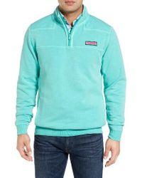 Vineyard Vines | Blue Shep Quarter Zip Pullover for Men | Lyst
