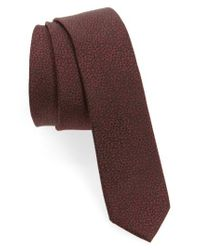 The Kooples - Multicolor New Dots Silk Jacquard Tie for Men - Lyst